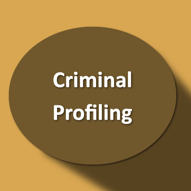 criminal profiling questions This course on criminal profiling will provide of profiling including the fbi's criminal the set questions course cost criminal profiling.